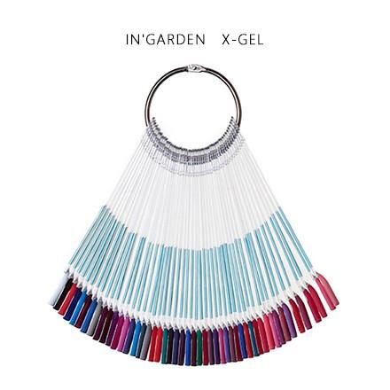 Палитра InGarden X-GelInGarden<br>Демонстрационная палитра представляет 42 оттенка гель-лаков InGarden.<br>