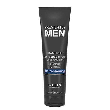 OLLIN, Шампунь Premier for men, 250 млГели для душа<br>Освежающее мужское средство для волос и тела.