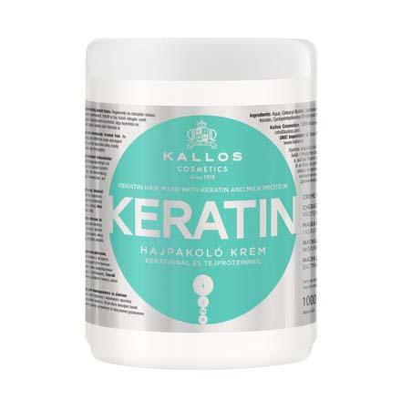 Купить Kallos, Крем-маска для волос Keratin, 1000 мл