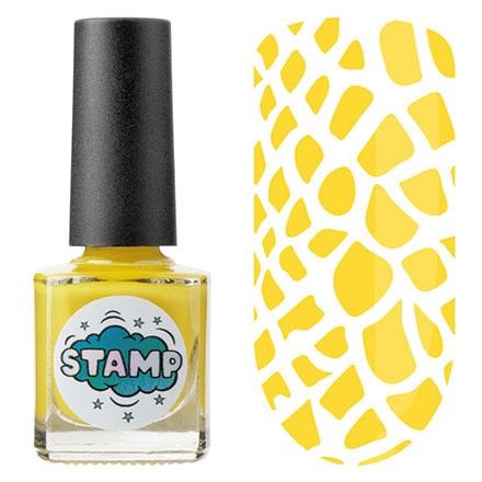 Купить IRISK, Лак-краска для стемпинга Classic №008, Желтый