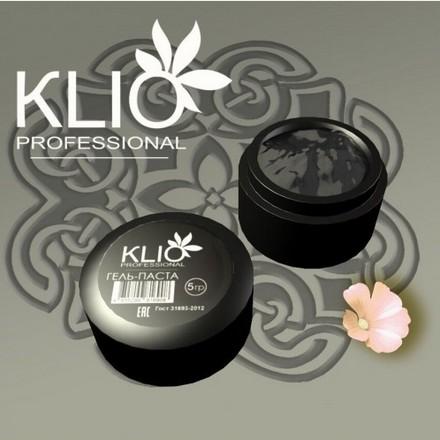 Klio Professional, Гель-паста, черная