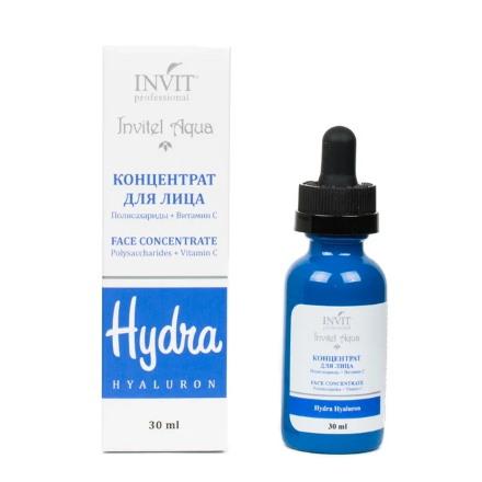 Купить INVIT, Сыворотка-концентрат для лица «Полисахариды + Витамин С», 30 мл