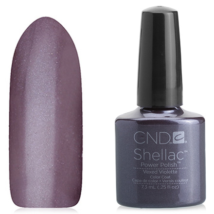 CND, цвет Vexed Violette cnd гелевое покрытие uv 045 cnd shellac vexed violette 40545 7 3 мл