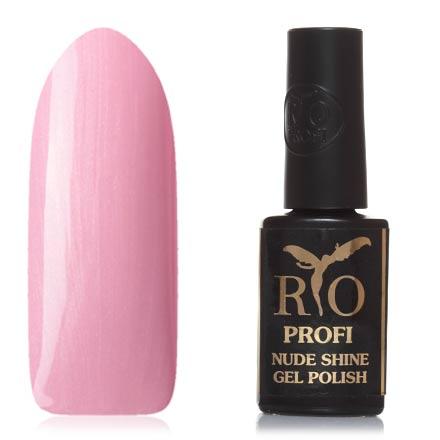Купить Rio Profi, Гель-лак Nude Shine №12, Жизель, Розовый