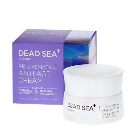 Dead Sea+, Крем для лица Rejuvenating Anti-Age, 50 мл фото