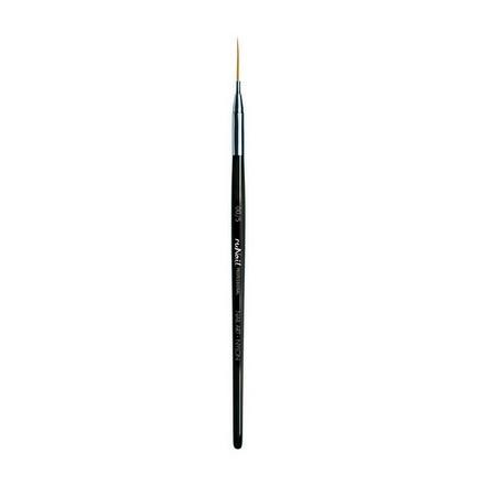 Купить RuNail, Кисть для дизайна Nail Art Nylon №00/5, 12 мм
