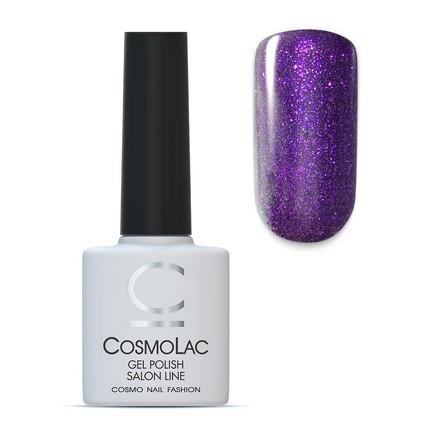 Купить Cosmolac, Гель-лак №107, Звездный Лос-Анджелес, Фиолетовый