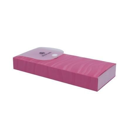 Planet Nails, пенал для кистей и пилок (розовый)