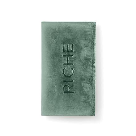 Riche, Натуральное мыло с голубой глиной, 130 г