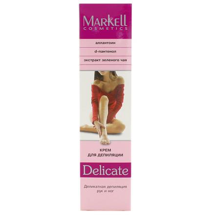 Markell, Крем для депиляции Delicate, 100 г