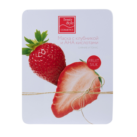 Купить Beauty Style, Маска для лица Fruit Silk «Сияние и тонус», 7х30 мл