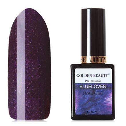 Bluesky, Гель-лак Golden Beauty Bluelover №03