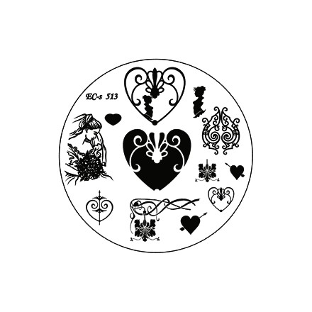 El Corazon, диск для стемпинга № EC-s 513