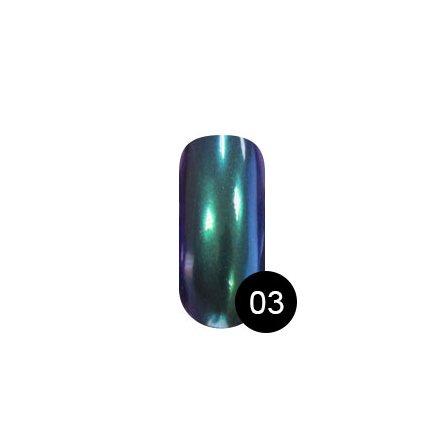 TNL, Втирка «Северное сияние» №03, афалинаВтирка для ногтей<br>Втирка для создания оригинального зеркального маникюра (2 г).<br>
