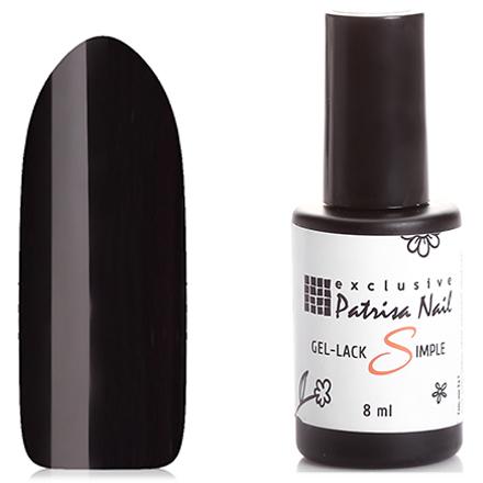 Patrisa Nail, Гель-лак 3 в 1 №102 Черный тюльпан (Patrisa nail)