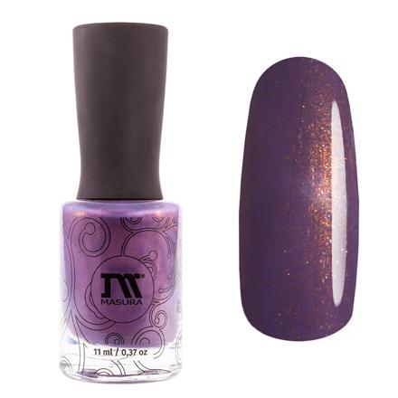 Купить Masura, Лак для ногтей «Золотая коллекция», Horcrux, 11 мл, Фиолетовый