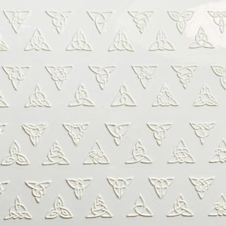 Anna Tkacheva, 3D-стикер №049 «Геометрия. Абстракция», белый фото