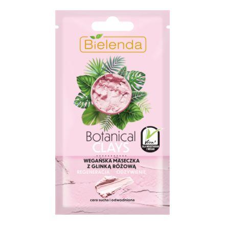 Купить Bielenda, Маска для лица с розовой глиной Botanical Clays, 8 г