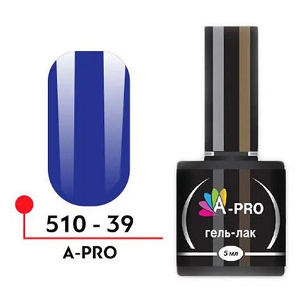 Купить A-Profi, Гель-лак A-PRO №39, Синий