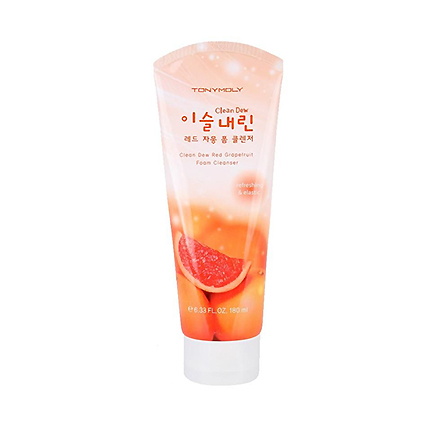 Tony Moly, Пенка для умывания Clean Dew Red Grapefruit Foam Cleanser, 180 мл