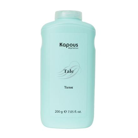 Kapous, Тальк для депиляции, 220 гСредства до депиляции<br>Тальк улучшает сцепление воска и сахарной пасты с волосом, повышая эффективность процедуры депиляции.