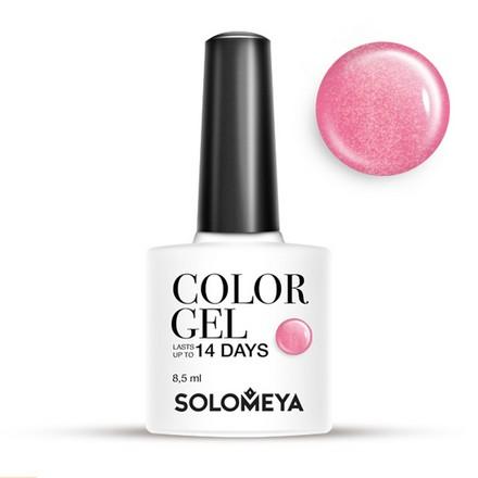 Купить Solomeya, Гель-лак №19, Rosе, Wella Professionals, Розовый