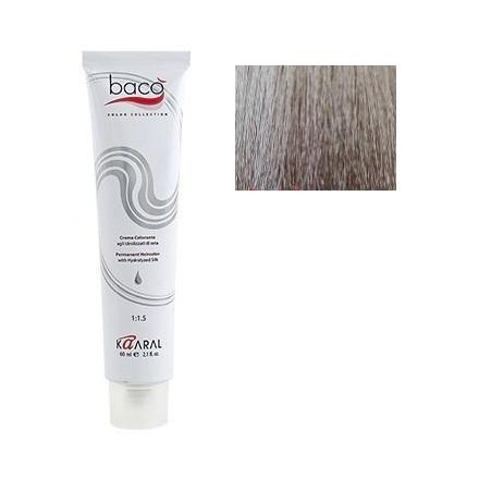 Kaaral, Крем-краска для волос Baco B 9.10Краска для волос<br>Цвет: очень светлый пепельный блондин. Объем: 100 мл.