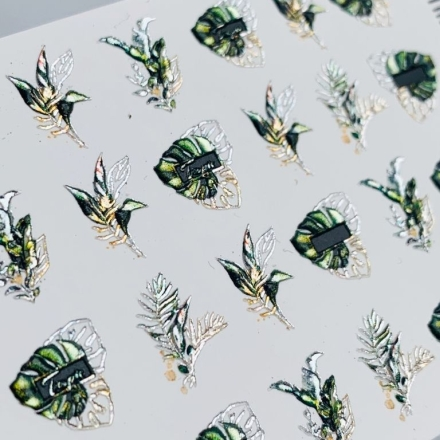 Купить Anna Tkacheva, 3D-слайдер Crystal №913 «Веточки. Листочки»