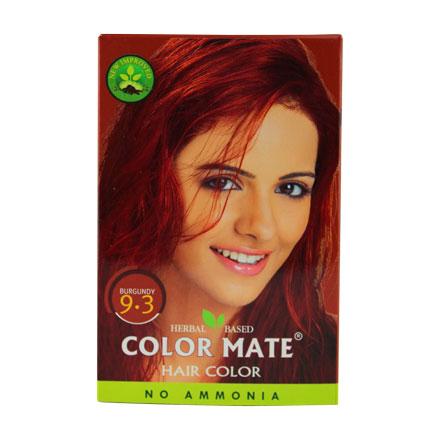 COLOR MATE, Травяная краска для волос 9.3