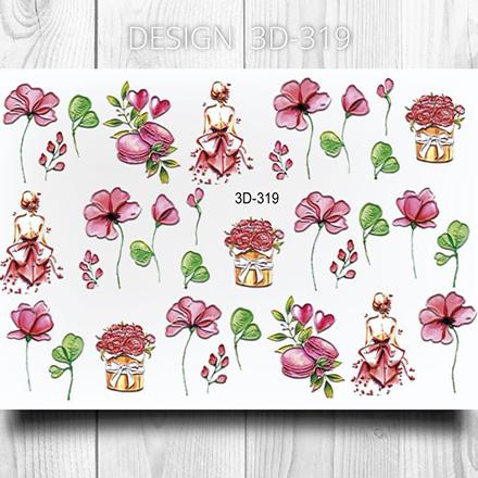 AnnaTkacheva,3D-слайдер№319 «Цветы. Цветочки» фото