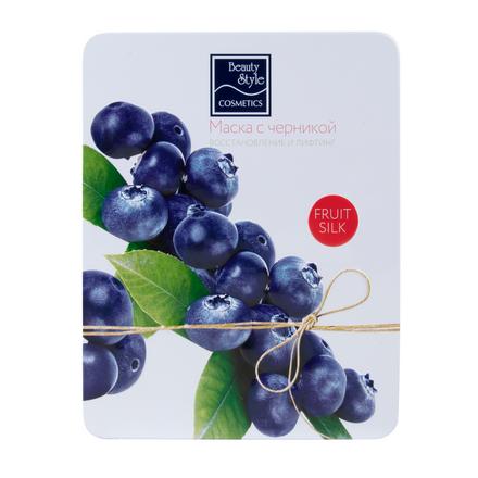 Купить Beauty Style, Маска для лица Fruit Silk «Восстановление и лифтинг», 7х30 мл