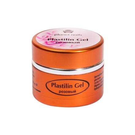Planet Nails, Гель-пластилин, розовый4d гель (пластилин) для ногтей<br>Гель-пластилин для объемных дизайнов (5 г).
