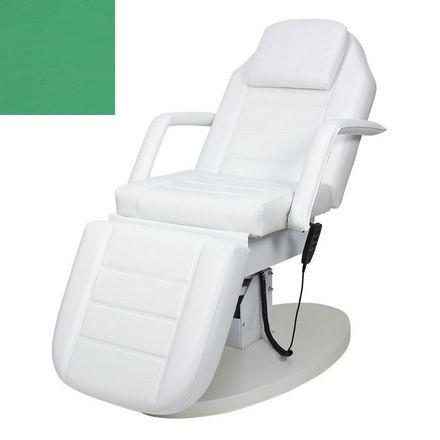 Купить Мэдисон, Косметологическое кресло «Элегия-02», зеленое глянцевое