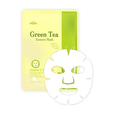 Niju, Тканевая маска Green Tea Essence Mask