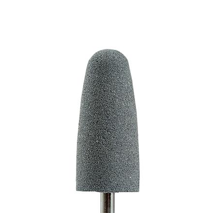 Muhle Manikure, Полировщик силикон-карбидный «Конус» D=10 мм, грубыйНасадки<br>Насадка для обработки утолщенных и слоящихся ногтей, шлифовки мозолей.