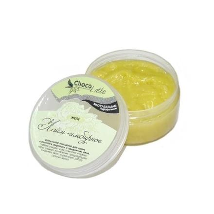TM ChocoLatte, Масло-бальзам для лица Лайм-имбирное желе, очищающее, 60 г