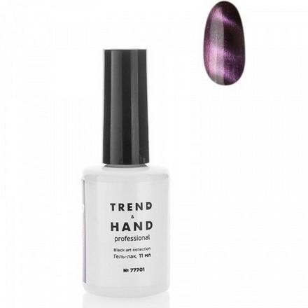 Купить Trend&Hand, Гель-лак Black Art №77701, Phantom, Trend&Hand Professional, Розовый