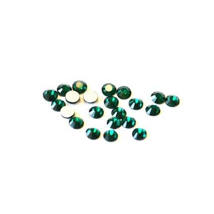 TNL, Стразы 4 мм темно-зеленые, 50 шт.