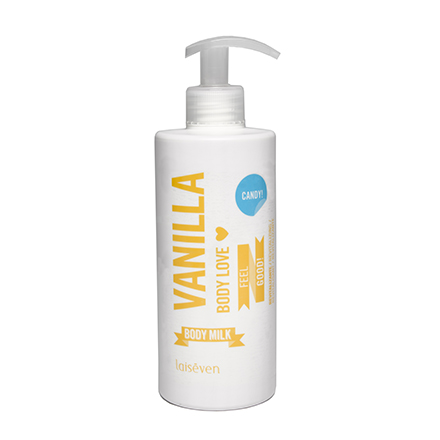 Laiseven, Молочко для тела Vanilla, 400 мл