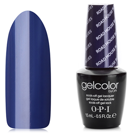 OPI GelColor, Гель-лак Road House Blues T32