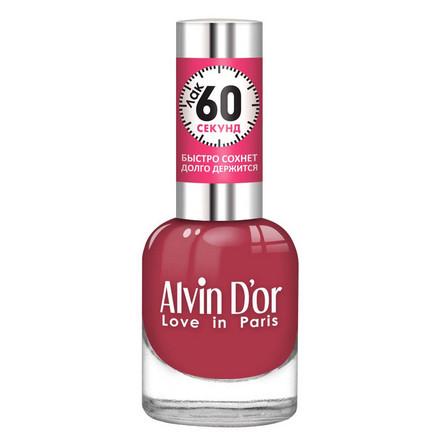 Купить Alvin D'or, Лак «60 секунд» №24, Бордовый