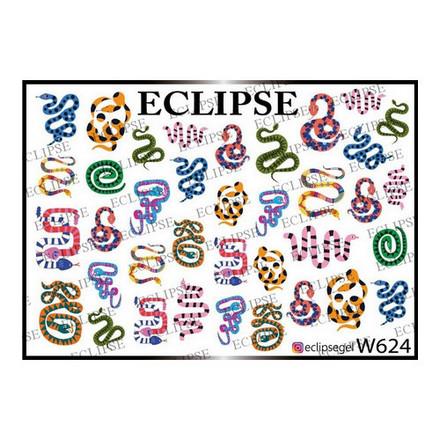 Купить Eclipse, Слайдер-дизайн для ногтей W №624
