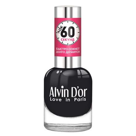 Купить Alvin D'or, Лак «60 секунд» №33, Черный