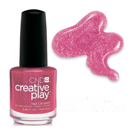 CND Creative Play, цвет Cherry-glo-round, 13,6 мл