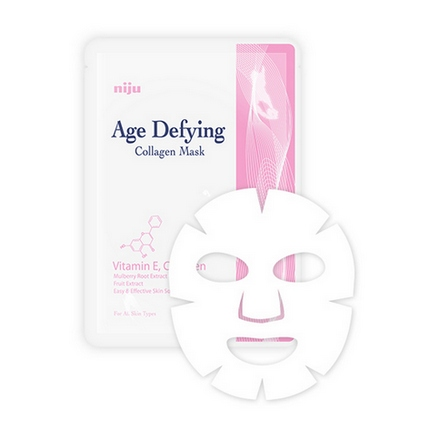 Niju, Тканевая маска Age Defying Collagen Mask