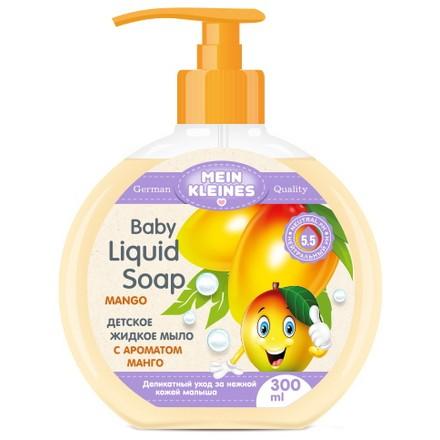 Купить Mein Kleines, Детское жидкое мыло с ароматом манго, 300 мл
