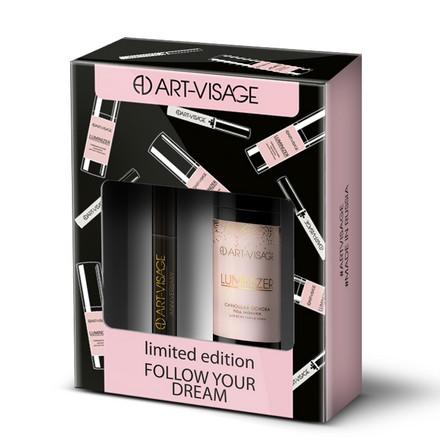 Art-Visage, Основа под макияж Luminizer и гель для бровей Fix&Care  - Купить