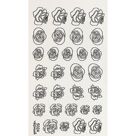 InGarden, Трафареты №18Трафареты для маникюра<br>Трафареты для создания уникального дизайна ногтей.<br>
