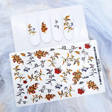 Купить Anna Tkacheva, Слайдер-дизайн №240 «Осень. Веточки»
