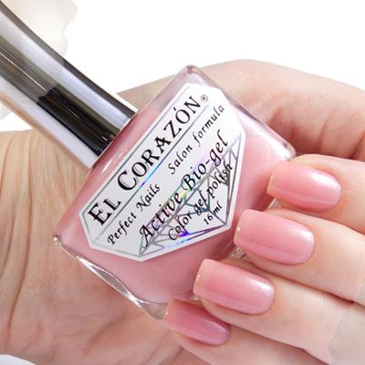 Купить El Corazon, Серия Активный Биогель Shimmer, № 423/009, Розовый
